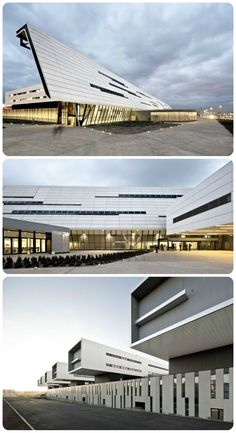 Sant Joan de Reus University Hospital / Pich-Aguilera Architects + Corea & Moran Arquitectura. EQUITONE facade materials. equitone.com