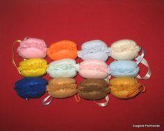 French Felt Macarons, available on http://www.etsy.com/shop/EcoGioiePerilmondo