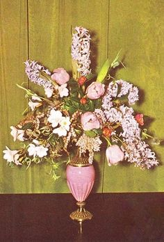 From Julia Clement's Book of Flower Arrangements, 1964.