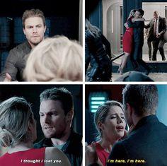 #Arrow - Oliver & Felicity #Olicity #4x09