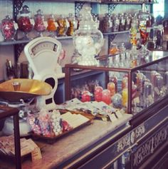 Ultimate vintage candy shop #inspiration