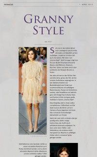 Granny Style | Infamous Magazine