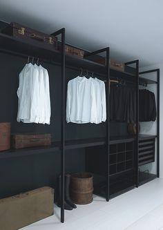 Faire un dressing pas cher soi-même facilement Diy Wardrobe, Wardrobe Storage, Wardrobe Ideas, Closet Storage, Wardrobe Room, Diy Closet Ideas, Diy Walk In Closet, Walking Closet, Build In Closet