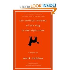 Fiction written from the perspective of someone with Asperger's. I love how the chapters are numbered by prime numbers. Mark Haddon, Autism Books, Quick Reads, Best Mysteries, Writing Styles, What To Read, Fiction Writing, Interesting Reads, Night Time