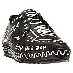 sale retailer 5a2ce 67537 adidas Jeremy Scott Graffiti Slim Shoes Jeremy Scott, In Vera Pelle, Scarpe  Di Cuoio