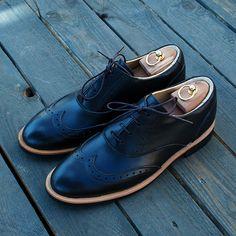 Классические ботинки Brogue №1 Black