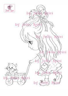 Digi Stamps Scrapbooking printable Digital stamp by JuliaSpiri
