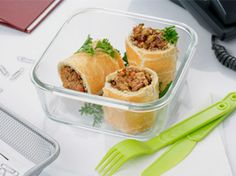 Rollitos de hojaldre rellenos de carne picada ¡Mmm! ;) Carne Picada, Wraps, Beverages, Cooking Recipes, New Recipes, Viajes