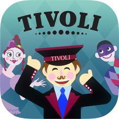 Join the lovely Tivoli inspector and take a ride in the famous old roller coaster, get on the stage at the Friday Night Rock concerts, be enchanted in the Flying Suitcase, get lost among flowers in The Garden and feel the tickling sensation in the new Fatamorgana!   #casual #games #puzzle #Tivoli
