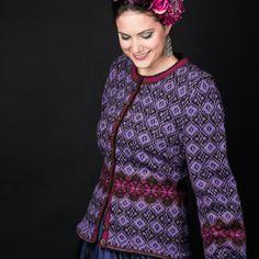 Fridas lilla drømmekofte pattern by Karihdesign Kari Hestnes