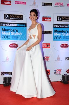 The beautiful queen Deepika Padukone at HT Most Stylish Awards 2015.