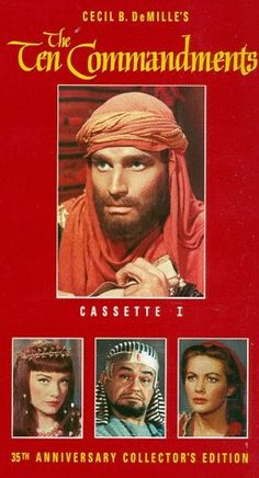 The Ten Commandments Special Collector's Edition (Widescreen) [VHS] Charlton Heston