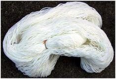 Kool Aid Wolle färben, Strang - Wool dyeing, skein