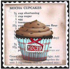 Mocha cupcake
