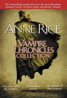 The Vampire Chronicles Collection - Interview with the Vampire, The Vampire Lestat, The Queen of the Damned by Anne Rice. Buy this eBook on #Kobo: http://www.kobobooks.com/ebook/The-Vampire-Chronicles-Collection/book-l70oWHn7sUG_jPfdiPeDNA/page1.html