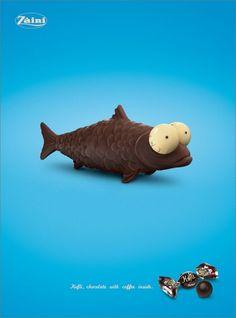 Publicité Paques : Chocolats au café