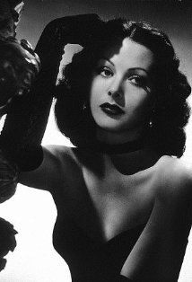 In honor of Hedy Lamarr's birthday (11/9). An A-List star and pin-up favorite of the 30's and 40's