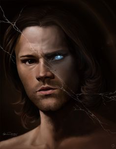 Angel in Disguise by Lillilolita on deviantART :: Sam Winchester :: Supernatural Drawings, Supernatural Fan Art, Winchester Brothers, Sam Winchester, Destiel, Jensen Ackles, Bad Boys, Fanart, Angels And Demons