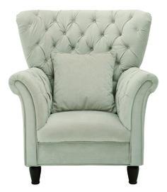 Fotel CUPIDO ES. Siedzisko wypełnione falistą sprężyną i pianką, oparcie – pasem tapicerskim i pianką. Prezentowany fotej wykonany w tkaninie z kolekcji Velvet (M4180), wyposażony w drewniane stopki, wybarwiane wg wzornika, 112/96/86. 999 zł (cena nie zawiera poduszki ozdobnej), Black Red White
