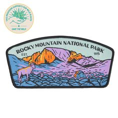 SPC929 Rocky Mountain National Park Patch