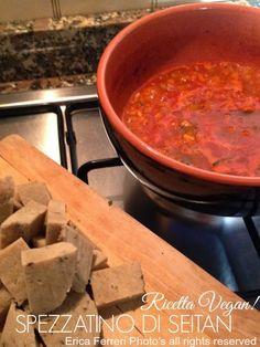 Spezzatino di seitan - seitan stew