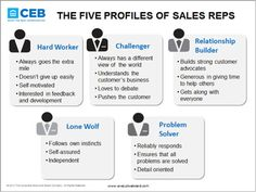 The 5 Profiles of Sales Reps