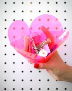 Woven Heart Pouch