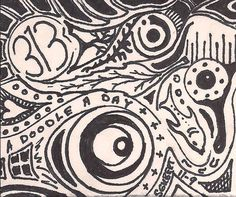 A Doodle A Day #313, ink, 11/9/13