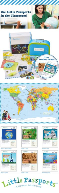 Teachers love the Little Passports Classroom Subscription! Every month, packages arrive for the classroom that reinforce geography, reading, and problem-solving skills with our award-winning materials.