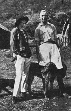 Top: Lord and Lady Erroll in Kenya Highlands residence, 1925 with Scottish Deerhound; bottom, stylin' in Kenya on the Lak. Nancy Mitford, Mitford Sisters, Out Of Africa, East Africa, Vintage Safari, Vintage Images, Movie Market, Scottish Deerhound, Kenya