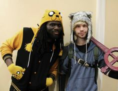 """""""Realistic"""" Finn and Jake cosplay"""