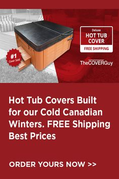 Your hot tub is a big investment. Protect it by using a perfectly fitted cover.
