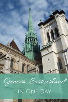 Geneva, Switzerland in One Day - things to see and do on a short visit to Geneva with kids #switzerland #europe