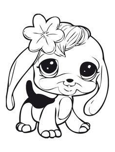 My Littlest Pet Shop Coloring Pages 155 | Free Printable Coloring