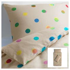 IKEA PS 2012 Quilt cover and 4 pillowcases - natural colour, cm - IKEA Ikea Ps 2012, Ikea Us, Ikea Duvet Cover, Best Duvet Covers, Ikea Kids Room, Kids Rooms, Kid Spaces, Quilt Cover, Yurts