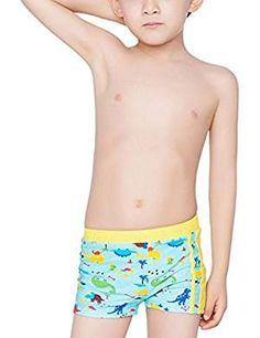 50175867f4 Aivtalk Baby Toddler Boys Swimming Trunks Cartoon Dinosaurs Swim Boxer  Briefs Years