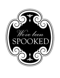 You've Been Spooked: FREE Neighbor Printable/Gift Idea and 12 Free Halloween Printables!