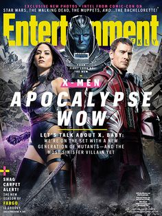 "First look at Psylocke, Apocalypse and Storm in ""X-Men: Apocalypse"" 