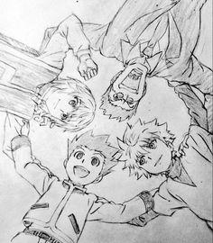 Kurapika, Gon, Leorio and Killua | HxH