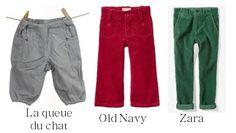 Cute little corduroy pants
