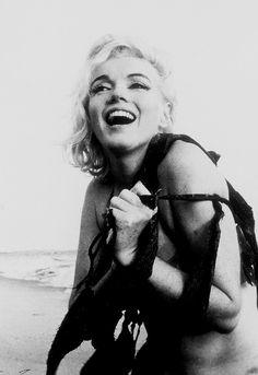 Marilyn Monroe wasn't afraid to get dirty.