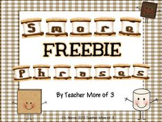 Comprehension strategy:  Using phrasing and a FREEBIE!