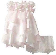 Biscotti Baby-girls Newborn Fan Club Puff Sleeve Dress