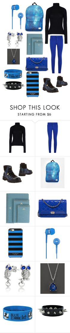 """""""Creepypasta: What Jana the killer would wear to school"""" by ender1027 ❤ liked on Polyvore featuring Anthony Vaccarello, J Brand, Manila Grace, Spiral, Postalco, Chanel, Isaac Mizrahi, Sennheiser, Bling Jewelry and Ippolita"""