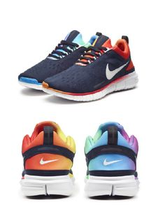 Nike Free Run OG #BETRUE 2014<--- The LGBT community has my full support and I love these as well!!!