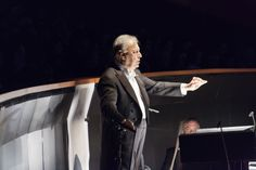 Opening Gala dell'Opera di Firenze 10 maggio 2014 - 77° Maggio Musicale Fiorentino - 2014  Zubin Mehta mentre dirige il IV atto dell'Otello di Giuseppe Verdi © Copyright Simone Donati / TerraProject
