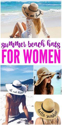 dfc05c96008 Cute Summer Sun Beach Hats for Women