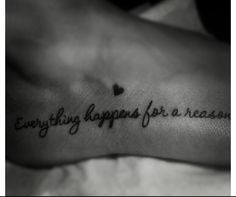 everything happens for a reason | Tumblr
