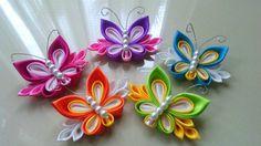 Jual Bross Jilbab Butterfly Kanzashi - Kanzashi-Hime | Tokopedia