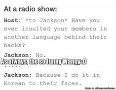 Another reason why you should love Jackson Wang  :D | allkpop Meme Center